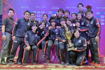女子は3階級制覇で国別対抗得点優勝