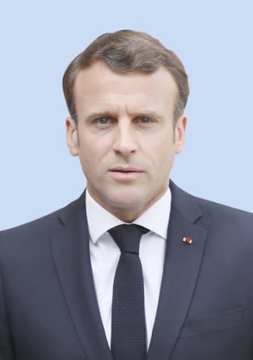 フランスのマクロン大統領