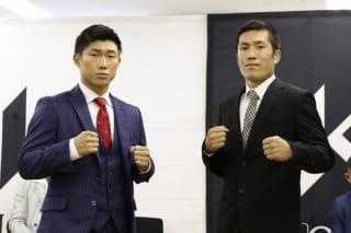 9年ぶりの再戦となるも、宮越(左)は「相手はどうでもいい」