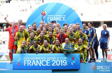 2点を先行したスウェーデンがイングランド破り3位入賞