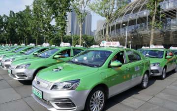 成都市、EVタクシーを導入 年末までに4400台目標