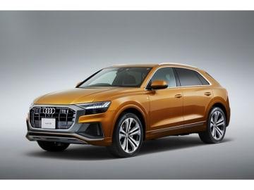 アウディは、今回、Audi Q8をラインアップに加えラグジュアリーSUVを訴求する、3グレードで、価格は1010.0万円から1122.0万円