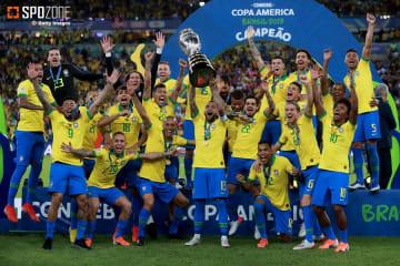 ブラジルが12年ぶり9回目の優勝を達成