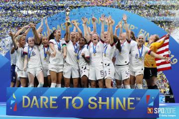 圧倒的な強さを見せたアメリカがW杯2連覇を達成
