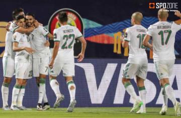 マハレズ弾などでアルジェリアが3発快勝
