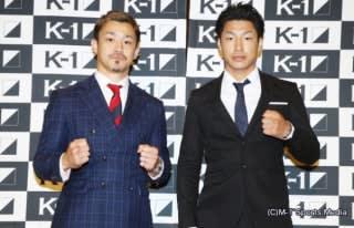 大和哲也(左)が再起戦、右は対戦相手の近藤拳成