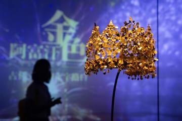 特別展「黄金のアフガニスタン-古代文明の十字路」開幕 江蘇省南京市