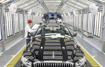 高級車ブランド「紅旗」、上期販売台数が昨年通年上回る