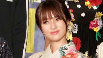 7月11日にスタートする主演連続ドラマ「ルパンの娘」の会見に出席した深田恭子さん