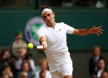 Roger Federer reaches Wimbledon 2017 final