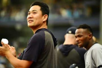 MLBオールスターに出場するヤンキース・田中将大【写真:Getty Images】