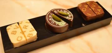 「ブルガリ イル・チョコラート」から、ブルガリとジャンルカ・フスト氏とのコラボレーションスイーツが限定販売されている。(写真:ラジオ関西)