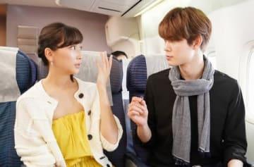 杏さんの主演ドラマ「偽装不倫」の第1話の1シーン(C)日本テレビ