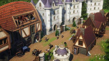 中世ファンタジー世界の街づくりシム『Distant Kingdoms』発表! パーティを組んでの冒険も