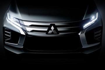 三菱自動車 新型『パジェロスポーツ』を世界初披露