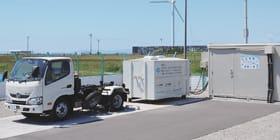 事業期間を延長する祝津地区の低圧水素配送システム実証事業