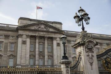 ロンドンのバッキンガム宮殿(ゲッティ=共同)