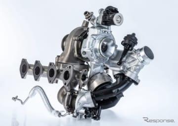 BMW、ボルグワーナーの最新2ステージターボ採用…3シリーズ 新型などに搭載