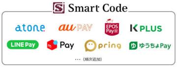 JCBの「Smart Code」採用に合意したコード決済事業者は計8社に