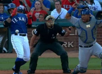 Check Out This Weird Play From Thursday's Royals-Rangers Matchup, Because It'll Probably Never Happen Again