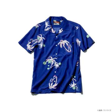 「ガンダム」デザインのアロハシャツで暑い季節を涼しく
