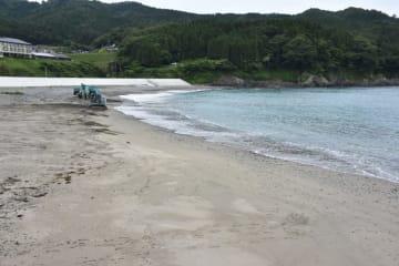 20日に震災後初の海開きを迎える綾里海水浴場