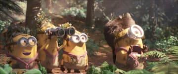 バナナー - 映画『ミニオンのキャンプで爆笑大バトル』より - (C)Universal Studios.