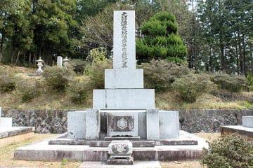 ▲寺内正毅の墓
