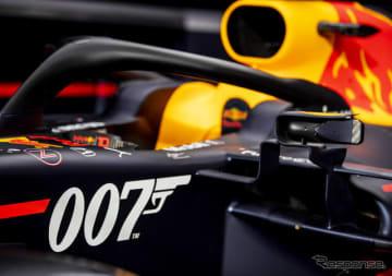 """レッドブルRB15はイギリスGPで""""007""""仕様となる。"""