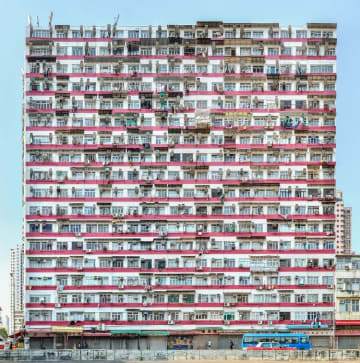 'Waterloo Road, Yau Ma Tei' by Stefan Irvine and Jörg Dietrich. Photo courtesy of Blue Lotus Gallery.