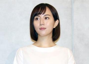 連続ドラマ「TWO WEEKS」の会見に登場した比嘉愛未さん