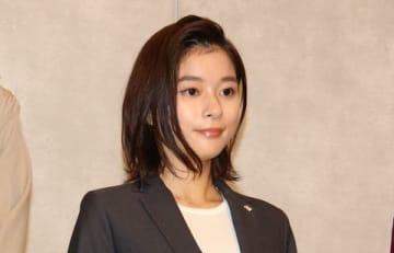 連続ドラマ「TWO WEEKS」の会見に登場した芳根京子さん