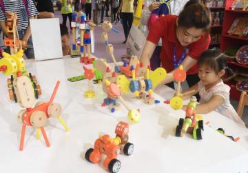 中国おもちゃエキスポ開幕 北京市