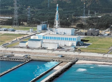 審査申請から5年が経過した東北電力東通原発=青森県東通村