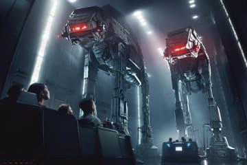 今回はフロリダが先にオープン!(「スター・ウォーズ:ライズ・オブ・ザ・レジスタンス」のイメージ画像) - (C)Disney / Lucasfilm Ltd. (C) & TM Lucasfilm Ltd.