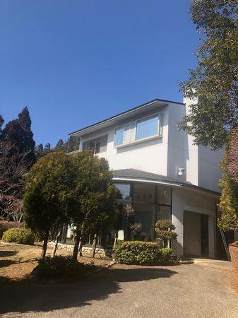 アクサスが取得した旧保養所。蒸留所として2020年11月の生産開始を目指す=神戸市灘区(同社提供)