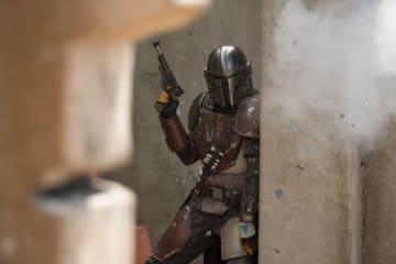 「ザ・マンダロリアン(原題)」の主人公 - (C) 2019 ILM and Lucasfilm Ltd. All Rights Reserved.
