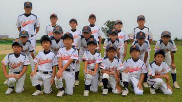 写真を拡大 全国スポーツ少年団交流大会へ出場する方上少年野球部