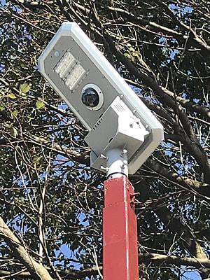 AIカメラ&アルカスソーラー街路灯
