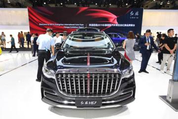 高級車ブランド「紅旗」、初のC級SUV発売 吉林省長春市