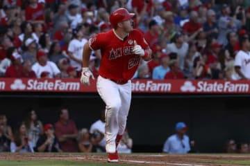 30号本塁打を放ったエンゼルスのマイク・トラウト【写真:Getty Images】