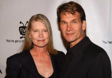 パトリック・スウェイジさんと妻のリサ・ニエミ - Jean-Paul Aussenard / WireImag / Getty Images