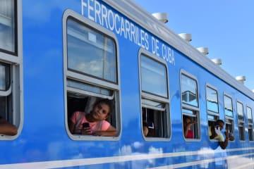 中国製の列車、キューバで運行開始