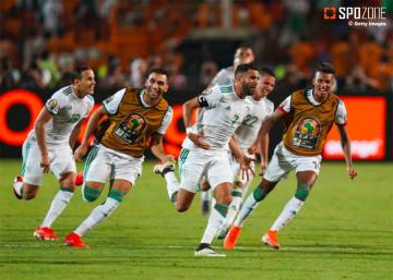後半ATのマハレズFK弾でアルジェリアが決勝へ