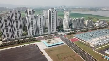 湖北省武漢で10月に世界軍人運動会開催 1万人収容の選手村を紹介