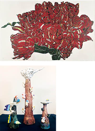 第9回「座間・アートの今」座間市アーティストファイルの作家36人の作品展、ワークショップも