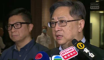 Police Commissioner Stephen Lo met reporters on July 15. Photo: RTHK screenshot.