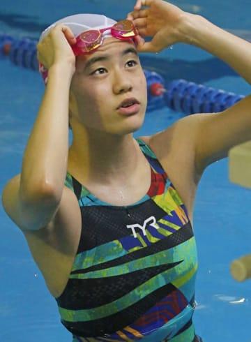 泳ぐたびに記録を更新して、シニアの代表入りも視野に入ってきた太田=北松佐々町、佐々スイミング・スクール