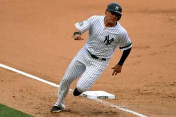 ヤンキースのジオバニー・ウルシェラ【写真:Getty Images】