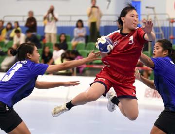 日本、タイに勝利 アジアU-22女子ハンドボール選手権